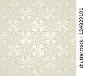 retro seamless shading | Shutterstock .eps vector #124829101