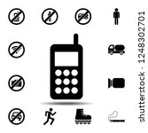 telephone  phone  blower icon....