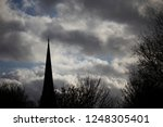 silhouette of christian... | Shutterstock . vector #1248305401