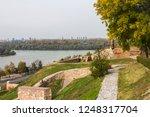 beautiful autumn view of... | Shutterstock . vector #1248317704