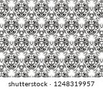 ornament with elements of black ... | Shutterstock . vector #1248319957