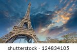 Beautiful View Of Eiffel Tower...