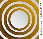 vector concentric goden... | Shutterstock .eps vector #1248341167
