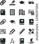 solid black vector icon set  ... | Shutterstock .eps vector #1248357064