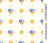 seamless pattern with buttons.... | Shutterstock .eps vector #1248410857
