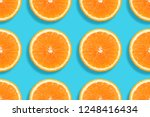 minimal flat lay composition.... | Shutterstock . vector #1248416434