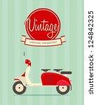 vector illustration of a... | Shutterstock .eps vector #124842325