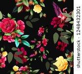 seamless background pattern... | Shutterstock .eps vector #1248432301