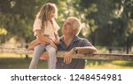 grandpa  i want to spend the... | Shutterstock . vector #1248454981