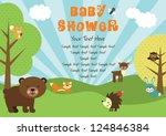 Baby Shower. Forest Friends....