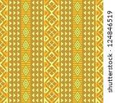 african geometric pattern ... | Shutterstock .eps vector #124846519