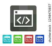 inspect   app icon | Shutterstock .eps vector #1248470857