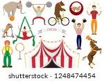 a set of flat vector...   Shutterstock .eps vector #1248474454