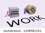 art concept of gender...   Shutterstock . vector #1248481141