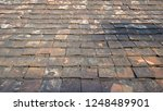 roof clay tiles are a component ... | Shutterstock . vector #1248489901