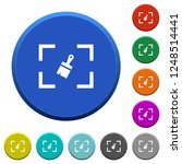 camera sensor cleaning round... | Shutterstock .eps vector #1248514441