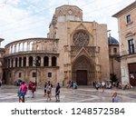 valencia  spain   august 23 ... | Shutterstock . vector #1248572584