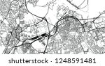 urban vector city map of... | Shutterstock .eps vector #1248591481