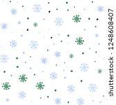 light blue  green vector...   Shutterstock .eps vector #1248608407