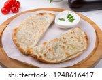 traditional uzbek fried...   Shutterstock . vector #1248616417