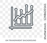 average earnings growth icon.... | Shutterstock .eps vector #1248620161