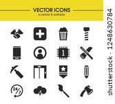 build icons set with art ...