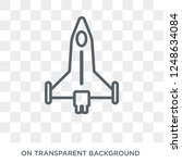 air force icon. air force... | Shutterstock .eps vector #1248634084