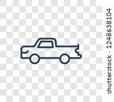 pickup icon. trendy linear... | Shutterstock .eps vector #1248638104