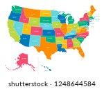 bright colors full vector... | Shutterstock .eps vector #1248644584