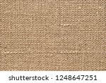 natural canvas or linen texture ...   Shutterstock . vector #1248647251