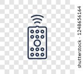 remote control icon. trendy... | Shutterstock .eps vector #1248656164