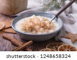 traditional rice pudding also... | Shutterstock . vector #1248658324