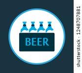 ale box icon colored symbol.... | Shutterstock .eps vector #1248707881