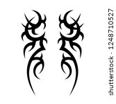 tribal tattoo art designs art. | Shutterstock .eps vector #1248710527