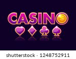 logo casino background ...