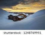wintertime in roros  mining old ... | Shutterstock . vector #1248769951