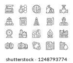 set of oil and petrol industry... | Shutterstock .eps vector #1248793774