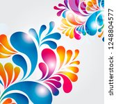 abstract background composition ... | Shutterstock .eps vector #1248804577