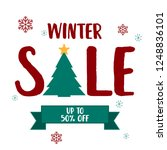 super sale poster  banner. big... | Shutterstock .eps vector #1248836101