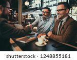 team of colleagues working in... | Shutterstock . vector #1248855181