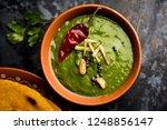 makki di roti with sarson ka... | Shutterstock . vector #1248856147