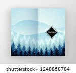 vector design of leaflet with... | Shutterstock .eps vector #1248858784