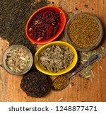 several traditional oriental...   Shutterstock . vector #1248877471