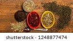 several traditional oriental...   Shutterstock . vector #1248877474