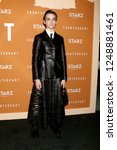 Small photo of LOS ANGELES - DEC 3: Sara Serraiocco at the Counterpoint Season 2 Premiere at the ArcLight Hollywood on December 3, 2018 in Los Angeles, CA