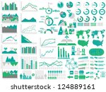 new style web elements... | Shutterstock .eps vector #124889161