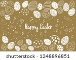 Doodle Decorative Eggs And...