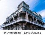 gothic balcony of the stone...