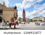 krakow  poland   august 27 ...   Shutterstock . vector #1248921877