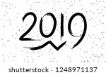 greeting card design template... | Shutterstock .eps vector #1248971137